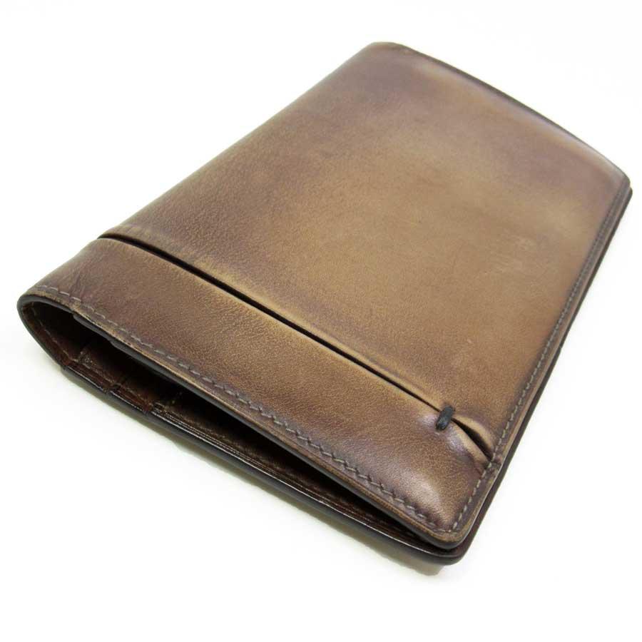 BrandValue | Rakuten Global Market: Berluti BERLUTI two fold wallet ♦ Brown Venetian leather • popular • mens-h11284