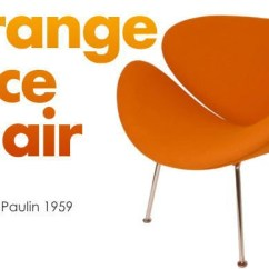 Orange Slice Chair Table Design At Ease Lounge Soft Headed So Null The French Designer Who Played An Active Part For Mid Century Period By Pierre Paulin Are Full Of Fashionableness And A