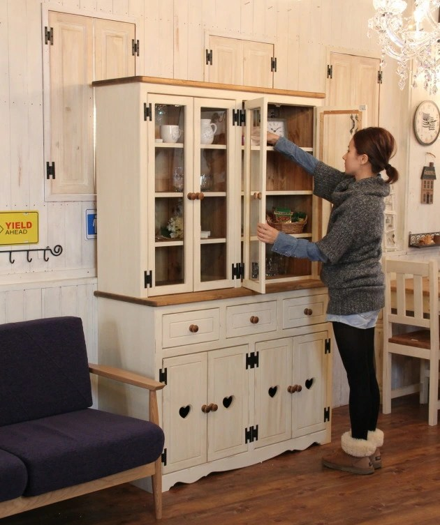 kitchen cabinet knobs small carts on wheels auc-can-doll | 日本乐天市场: 国家厨柜仿古手工天然国家数控四阶玻璃门和橱柜周大福 cbdss
