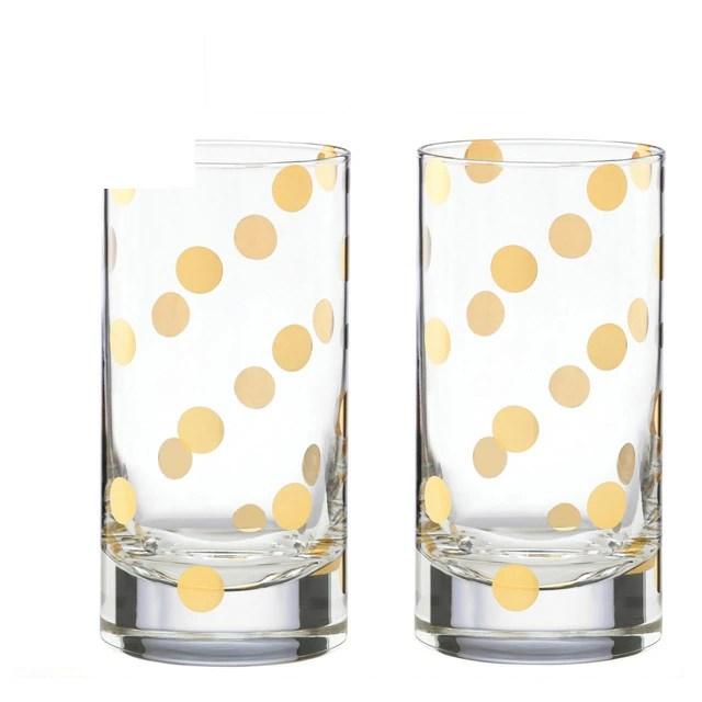 kate spade kitchen pro style faucet 凯特铁锹玻璃杯子餐具凯特铲珍珠的地方hiball 设置 pf 2 海波玻璃集的对玻璃酒杯金点852108 ケイトスペードpearl place hiball set ハイボールグラスセットペアグラスタンブラークリア