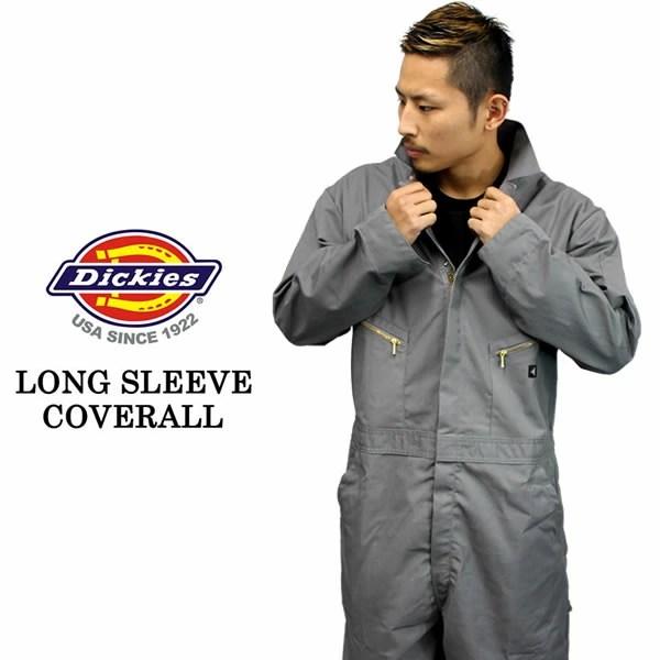 badass: Dickies Dickies 工作服長袖工作服灰灰色工作衣服男子街頭時尚大尺寸貝一 | 日本樂天市場