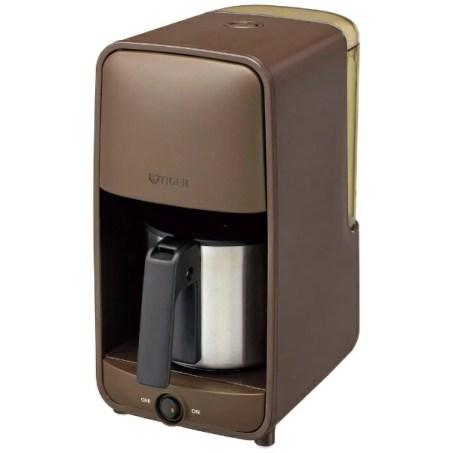 タイガーTIGERコーヒーメーカーダークブラウンADC-A060<TD>[おしゃれステンレスADCA060TD]