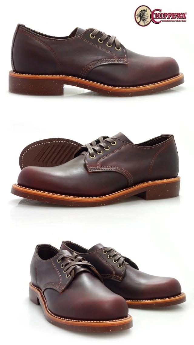 Cloud Shoe Company Chippewa 4 inch service Oxford