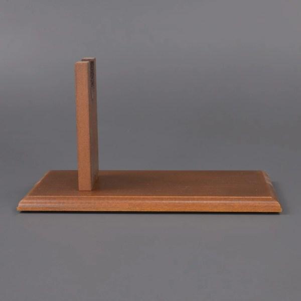 Wooden Handgun Display Stand
