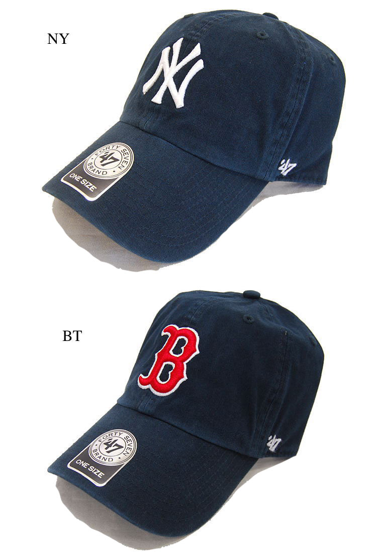 firstadium 47 47 Brand brand Cap Yankees RED SOX CLEAN UP