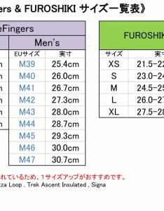 Model size chartclick also fitnessclub rakuten global market vibram fivefingers rh