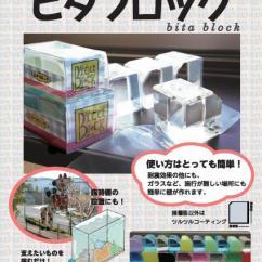 Kitchen Gel Mats Swag Curtains Hirakata Giken Of Nonburen 三维地震辅助玩具咬块4x4x4cm 2 件带清晰 产品信息