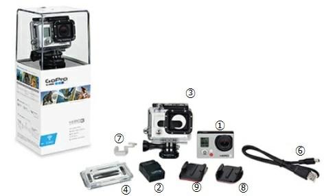 GoPro HERO3ホワイト エディション【送料・代引き手数料無料】100%本物保証!-www