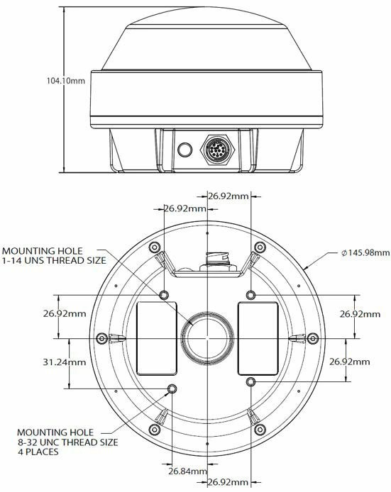 【楽天市場】Hemisphere(ヘミスフィア)A101 高精度GPSレシーバー (10Hz)【4.6mケーブル