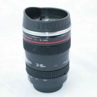 カメラレンズ型マグカップ