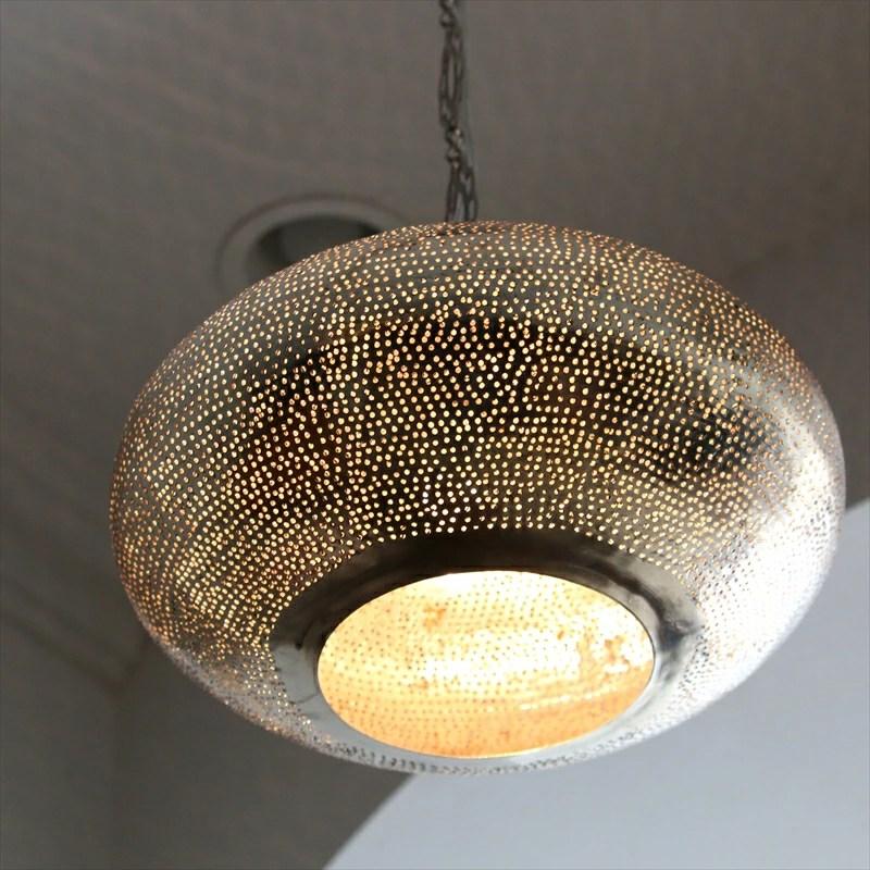 GalataBazaar With Moroccan lamp 30cmUFO metal shade
