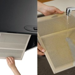 Kitchen Hood Vent Floor Covering Livingut 供贝拉大衣抽油烟机使用的伸缩式过滤器60cm型2张装 抽油烟机 2张装供贝拉大衣抽油烟机使用的伸缩式过滤器60cm型