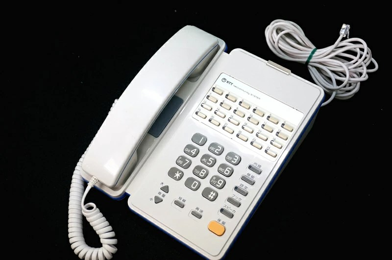 【楽天市場】中古ビジネスフォン/ビジネスホン NX-24外線スター防水電話機 白NX-<24>WPSTEL<1><W>NX ...