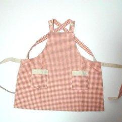 Kitchen Apron For Kids 10x10 Designs Mishinkobo | 日本乐天市场: 围裙孩子检查模式自然花园儿童围裙母亲一天一天围裙送礼物给母亲的礼物在日本友好的礼物