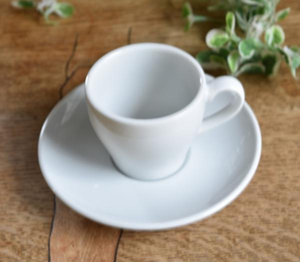 Motherskitchen: 正式的白咖啡小杯黑咖啡優質白瓷杯 & 飛碟 5 設置白色餐具   日本樂天市場