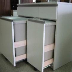 Cheap Kitchen Storage Wall Mount Faucet Ookawakaguzanmai | 日本乐天市场: 天然的垃圾box白/棕色不同厨房储藏柜/碗橱/垃圾箱3分 ...