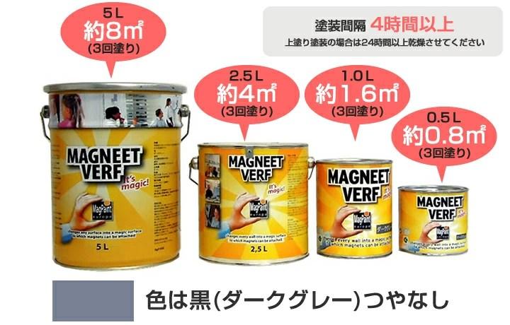 paintjoy: 磁鐵油漆 5 l (水性乳膠漆) | 日本樂天市場