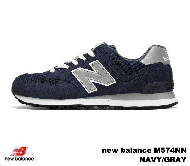 PREMIUM ONE: 紐巴倫574深藍灰色人分歧D運動鞋new balance M574 NN newbalance M574NN NAVY/GRAY | 日本樂天市場