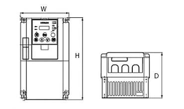 【楽天市場】(生産終了)日立 インバータ SJ700-150HFF2 (三相モーター制御用) 三相400V
