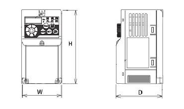 【楽天市場】FR-D720S-0.1K 三菱電機 インバータ 単相200V (三相モーター制御用) インバーター