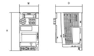 【楽天市場】東芝 インバータ VFS15-4110PL (三相モーター制御用) VF-S15シリーズ 三相 400V