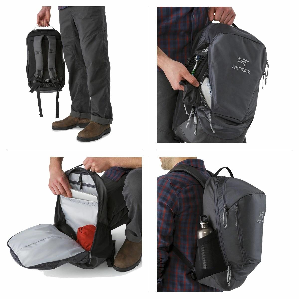 SneaK Online Shop: akuterikusu ARC'TERYX帆布背包背包包MANTIS 26 BACKPACK 7715 26L人黑色灰色深藍 | 日本樂天市場