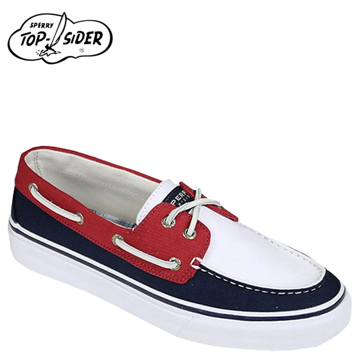 SneaK Online Shop: [賣出] 斯佩里頂部斯佩里 TOPSIDER 甲板鞋海軍紅色水泥 0565622 巴哈馬船鞋 M 明智帆布男士 | 日本 ...