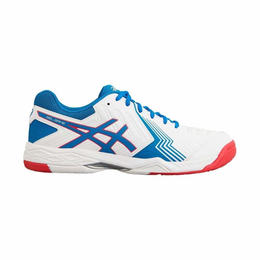 SportsNet Sapporo: 亞瑟士(亞瑟士)TLL789人網球鞋凝膠遊戲6白藍色 | 日本樂天市場