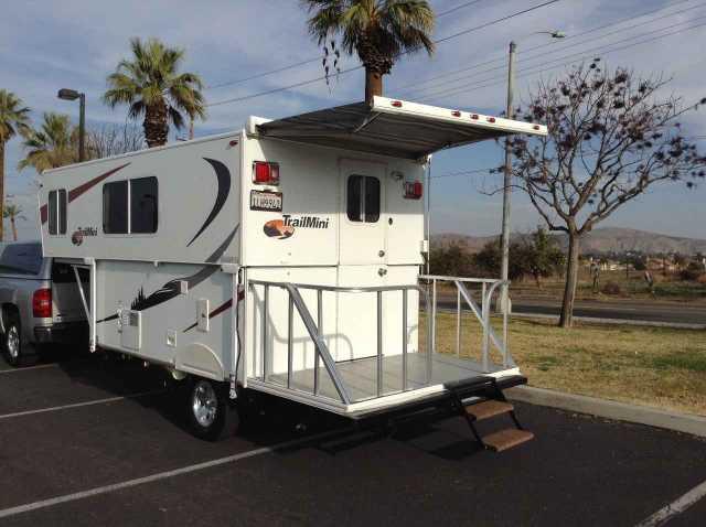 2010 Used Trailmanor Trail Mini Pop Up Camper in California CA