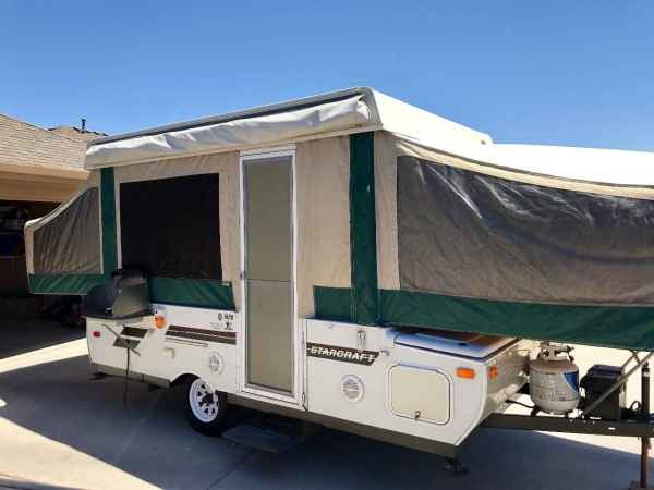 Starcraft Pop Up Camper Canopy - Year of Clean Water