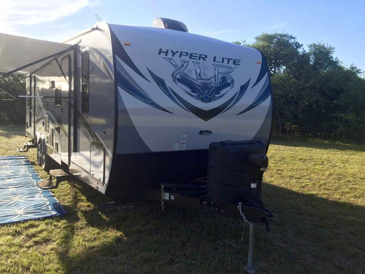 2015 Used Forest River XLR HYPERLITE 29HFS Toy Hauler in