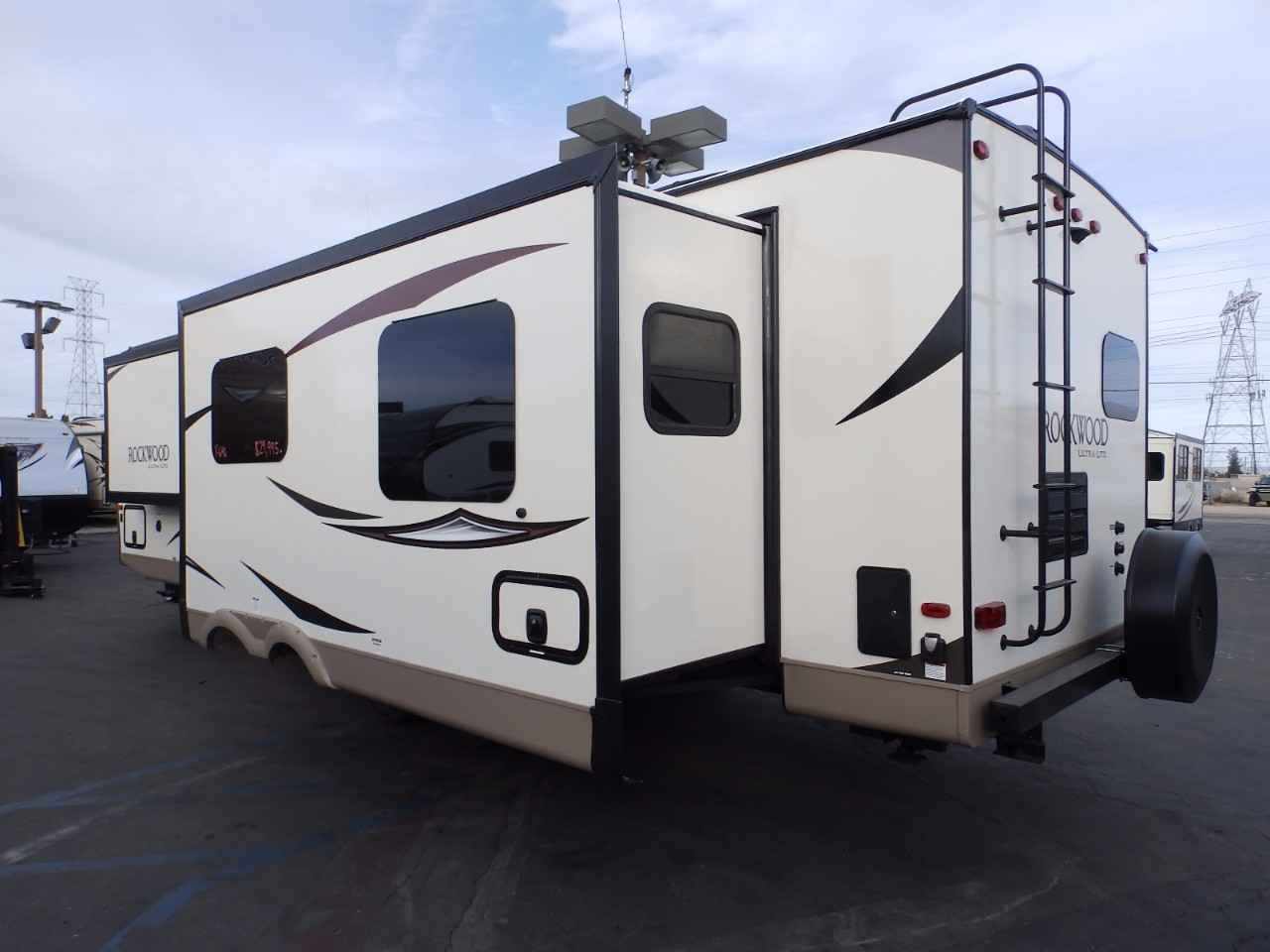 travel trailers with rear kitchen glass tile backsplash trailer 2 slides  wow blog