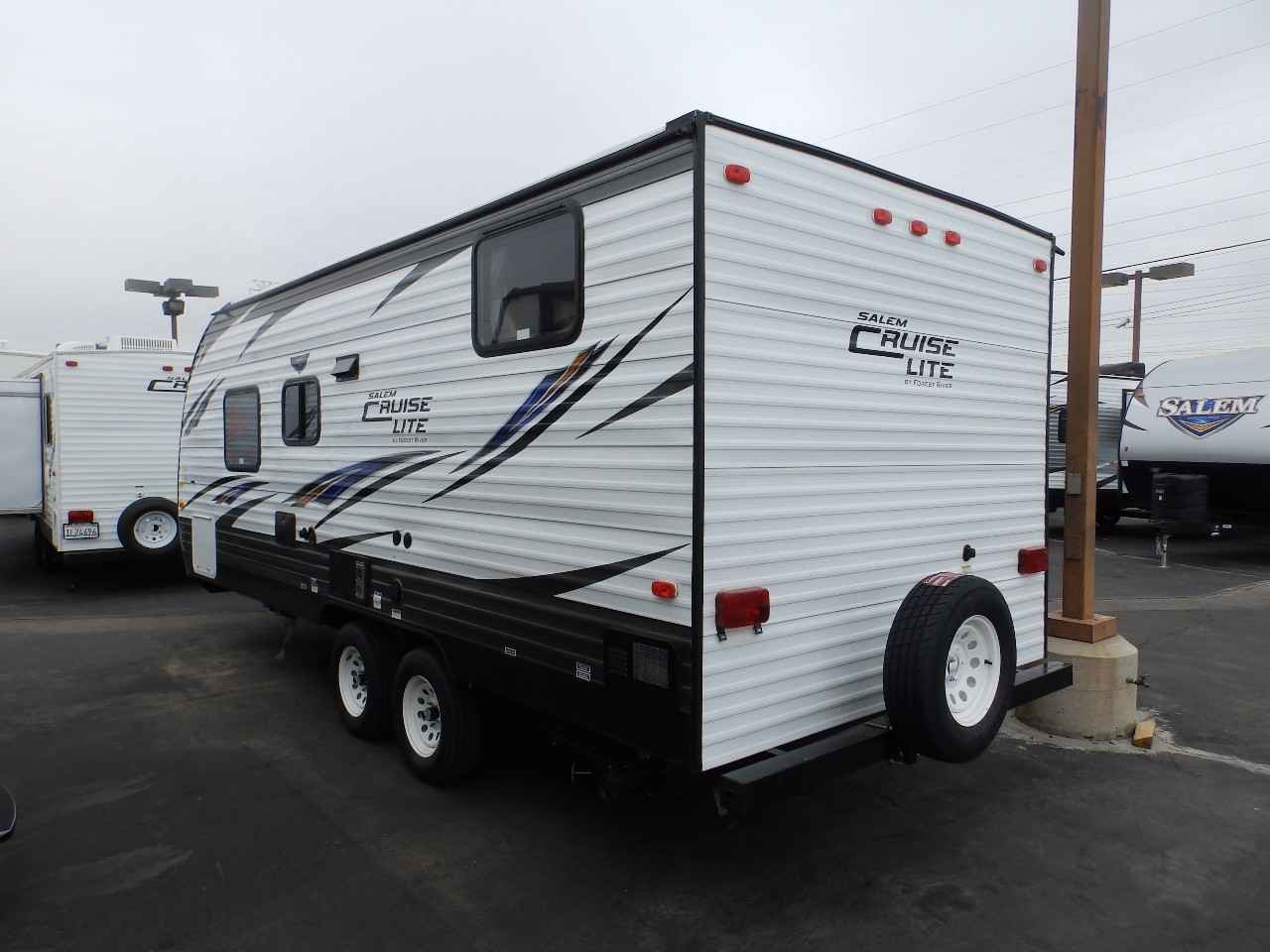 travel trailer v front view brain diagram 2018 new forest river salem 201bhxl murphy bed