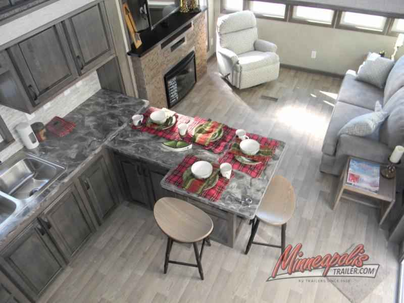 large kitchen pantry inexpensive countertops 2018 new kropf industries island series 4856 park model in ...