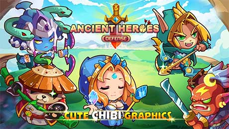 Ancient Heroes Defense
