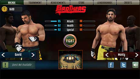 Brothers Clash of Fighters