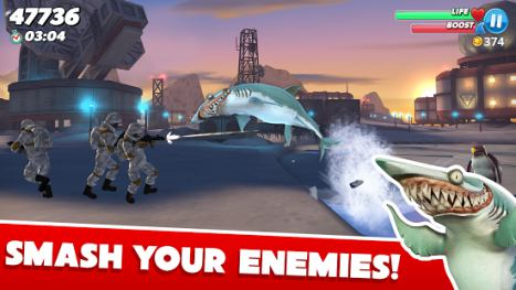 Trucchi Hungry Shark World 3.1.2 Apk + Mod Money + Dati per Android