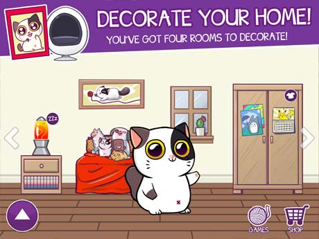 Mimitos cat Virtual Pet