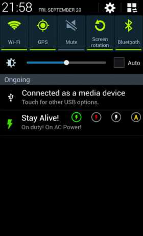 Stay Alive! Keep screen awake