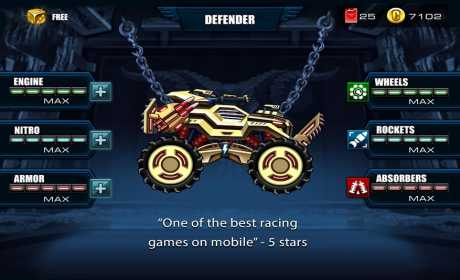 Trucchi Mad Truck - Hill Climb Racing 4.2.1 Apk + Mod per Android