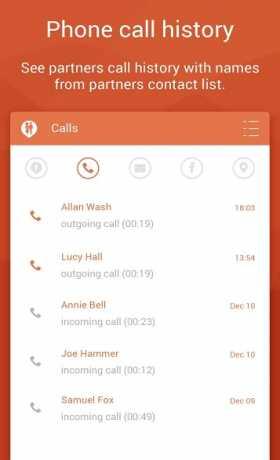 Couple Tracker - Phone monitor