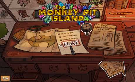 The Monkey Pit Island - Survive the treasure curse