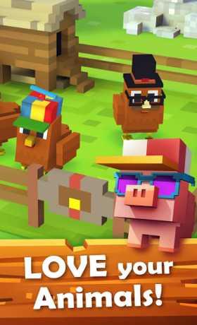 Download Little Big Farm Mod Apk : download, little, Blocky, 1.2.86, (Unlimited, Money), Android