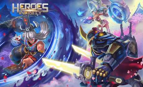 Heroes Infinity: God Warriors -Action RPG Strategy