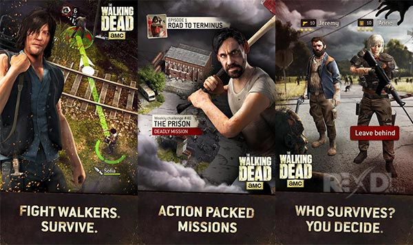 The Walking Dead No Man's Land 2.12.2.2 Apk Mod + Dati Android