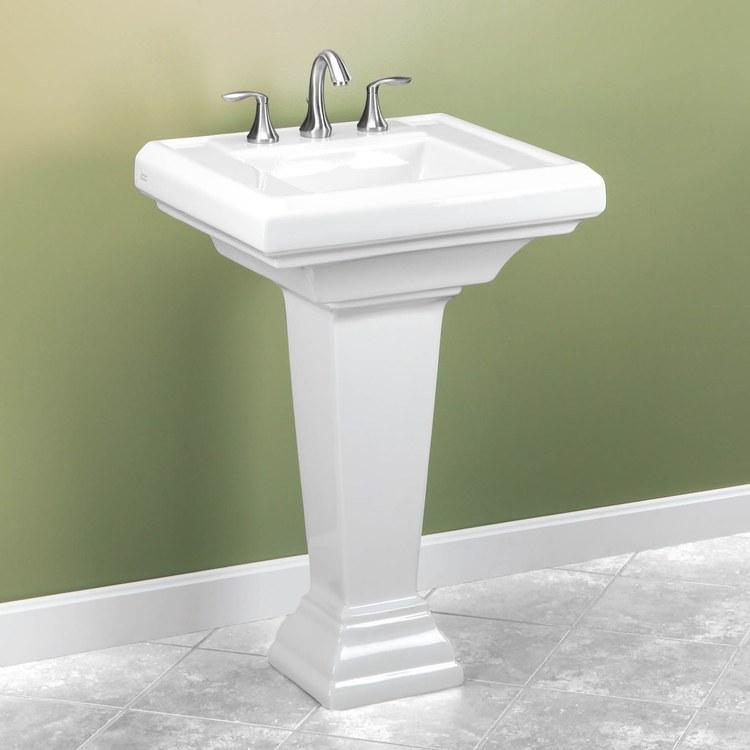 American Standard 0790800020  Town Square Pedestal Lavatory