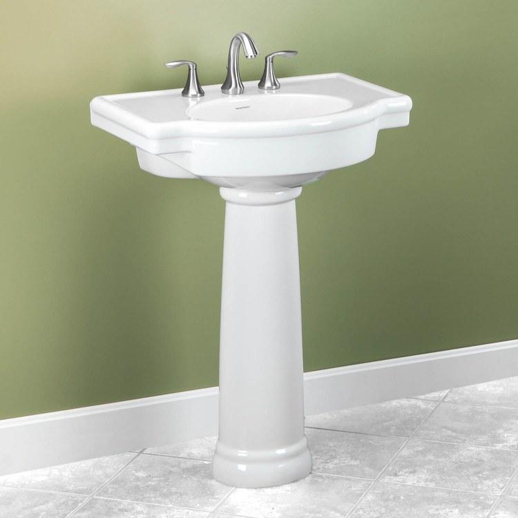 American Standard 0282800020  Retrospect Pedestal Lavatory