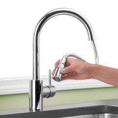 Grohe Concetto Kitchen Faucet Bosch Buy 32 665001 Single Handle Pull Down ...