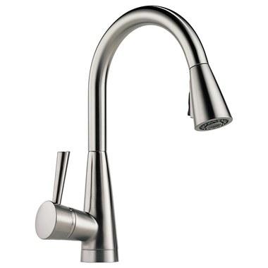 brizo kitchen faucet sink base cabinet sizes 63070lf ss venuto