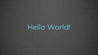 Building a Hello World! Roku Channel